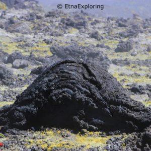 Etna bomba vulcanica