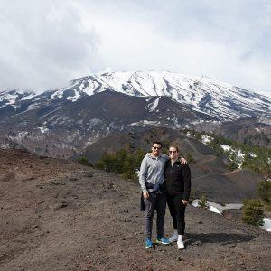 Etna escursionisti