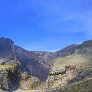 Etna spettacolare crater di nord est