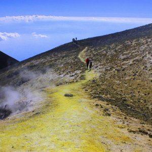 Etna sui crateri sommitali